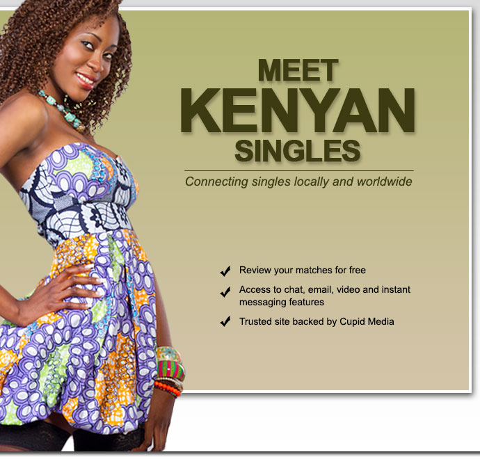 cupid singles dating in kenya
